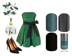 """Guess the Christmas Song - Jamberry Nails Game"" by kspantonjamon on Polyvore featuring Kate Spade"