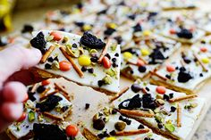 Halloween Bark {Pioneer Woman}