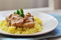 Vargányás sertésszűz Risotto, Menu, Ethnic Recipes, Food, Menu Board Design, Essen, Meals, Yemek, Eten