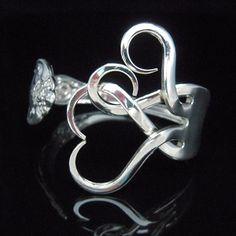 Shiny Silverware Handmade Jewelry