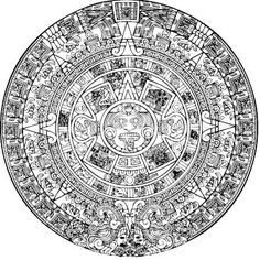 Calendrier Maya Dessin.Les 12 Meilleures Images De Calendrier Maya Calendrier