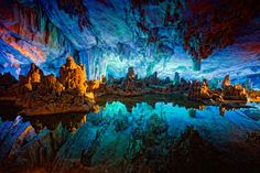 Reed Flute Cave, Guilin China