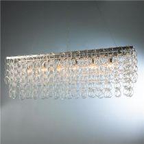 Glass Chain Island Chandelier - Shades of Light