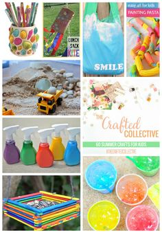 60 Summer Crafts for Kids