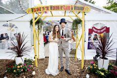 www.bridesbible.nl #festivalbruiloft #circusthema #bruiloft #huwelijk #trouwerij Claire Timmermans & Wichard Slootheer bruiloft