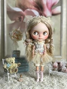 Blythe. Carmella new body and a new outfit Zimki / Dolls Blythe, Blythe dolls / Beybiki. Photo Dolls. Clothes for dolls