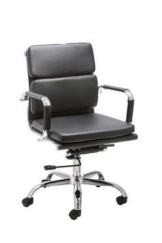 Modrest Tomar Modern Black Office Chair
