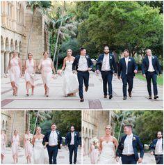 Bridal Party UWA Wedding Photos | Wedding Photography | Perth  | Mandurah | Rockingham | Swan Valley | South West | Trish Woodford Photography | www.trishwoodfordphotography.com