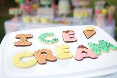 Ice cream shoppe cookies