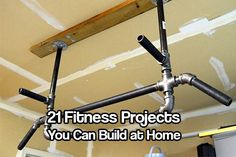 21 Fitness Projects You Can Build at Home - Staying fit is on everyone's mind. If you don't you can't do simple tasks like take the dog out for a walk with out getting out of breath and turning back in 5 minutes.