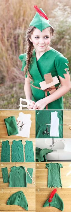 20 Super ideas for disney art ideas diy peter pan Diy Costumes For Boys, Boy Costumes, Halloween Costumes, Summer Art Projects, Toddler Art Projects, Tinkerbell Costume Kids, Peter Pan Crafts, Dobby Costume, Art Deco Borders