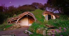"""Simon Dale is a family man in Wales, the western part of Great Britain. His interest in self-sustainability and an ecological awareness led him to dig out and build his own home—one of the loveliest, warmest, most inviting dwellings you could ever imagine. And it cost him only £3,000, about $4,700 American dollars! Can you imagine a more charming entrance than this? Simon gives two reasons for building the home. The first elegant one, from his website, is: """"It's fun. Living your own life, in…"""