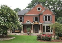 best color for orange brick exterior - Google Search
