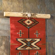 Lodge Pole Rug Rail   Use As Quilt Hanger!