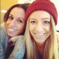Danielle and her mom!!!!!! They could be sisters they look soooo much alike!!! Anyone agree?!?!:):):).xxx
