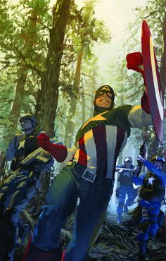 Captain America by Gerald Parel