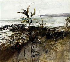 huariqueje: September Sea - Andrew Wyeth 1953 American 1917-2009 Carnegie Museum of Art