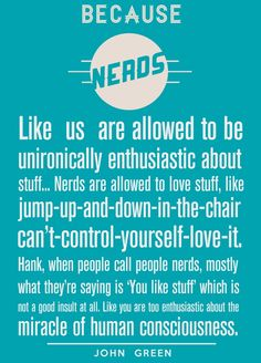 """Nerds. I know it looks like it says neads. This was pinned to a board entitled """"Things That Amuse Me"""". Before posting a rant below (and making an ass of yourself), Here's the definition of amuse: http://www.merriam-webster.com/dictionary/amuse"""