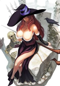 Dragons Crown Sorceress, the alternative to the Wizard.