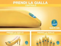 Chiquita outdoor campaign 2 - Milan March 2012