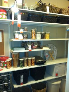 I always wanted a pantry that can fit everything. You can always create one. Never limit yourself.