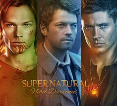 Sam, Castiel, Dean - #supernatural