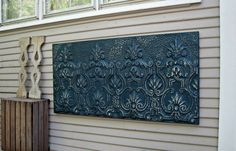 Antique Ceiling Tin Tile Vintage architectural by DriveInService