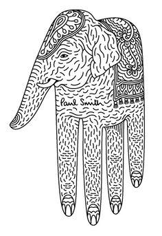 .Paul Smith, Elephant Hand.           t