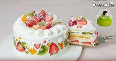 Recipe: Fresh Fruit Cream Cake - Bee Mission Fresh Fruit Desserts, Fresh Fruit Cake, Fruit Recipes, Fun Desserts, Dessert Recipes, Cake Decorated With Fruit, Fruit Cake Design, Fruit Birthday Cake, Cake For Husband