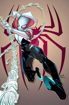 Spider-Gwen by Ben Jones....!!!!