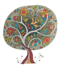 Tree of Life - Cross Stitch Pattern