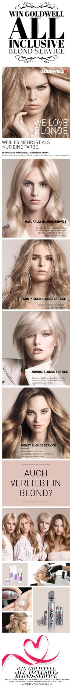 Win Goldwell «All-Inclusive» Blond-Service