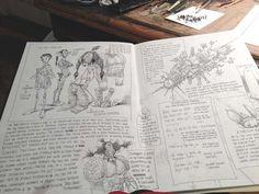 a peek at chris riddell's fabulous sketchbooks - Sarah McIntyre