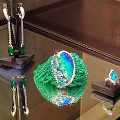 Scavia Opal and Emerald Jewelry