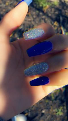 cute nails for kids - nails kids cute . cute nails for kids . nails for kids cute short . cute acrylic nails for kids . cute unicorn nails for kids Nails Inc, My Nails, Blue Coffin Nails, Summer Acrylic Nails, Simple Acrylic Nails, Simple Nails, Fire Nails, Formal Nails, Homecoming Nails
