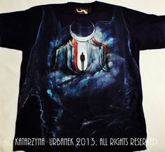 "T-shirt ""98""-malowany ręcznie © Katarzyna Urbanek , All rights reserved https://www.facebook.com/lunarisart"