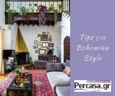 Το Bohemian style είναι ένα εκλεπτισμένο στυλ το οποίο γεννιέται από την επίδραση ποικίλων στυλ. Η ζωή και η κουλτούρα είναι οι κύριες πηγές εμπνεύσεως για εκείνους που το διαλέγουν. Στο Bohemian style συνδυάζουμε σχέδια και υφές για να δημιουργήσουμε ένα ιδιαίτερο στυλ. Είναι δύσκολο να καθοριστεί με διακοσμητική ορολογία. Σύμφωνα με το Urban Dictionary, το Bohemian είναι κατά μία έννοια σαν να φοράς μια μείξη από ιδιαίτερα ρούχα και να συνδυάζεις διαφορετικές τάσεις της μόδας μαζί…