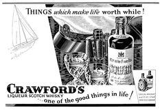 1937 Crawford's Liqueur Scotch Whisky