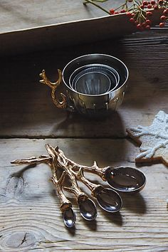 Twisted Twig Measuring Spoons #anthrofave http://rstyle.me/n/sp3gnr9te