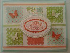 Stampin Up TeaShoppeButterflies