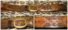 http://www.ebay.co.uk/itm/GORGEOUS-VINTAGE-REAL-LEATHER-HAND-TOOLED-BELT-BRASS-BUCKLE-BELT-34-38-034-/381208381591?