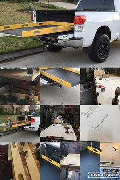 DIY Sliding Truck Bed