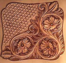 Картинки по запросу template roses leather craft