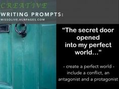 Creative Writing Prompts for Kids and Teenagers: Resources for Elementary, Middle and High School Teachers