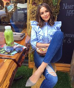 14 Things to Know About Our Style Crush Olivia Culpo - BOLD BLOUSES from InStyle.com