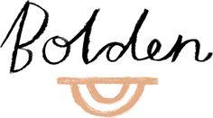 Bolden logo: loose