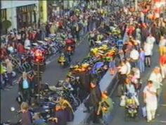 From c2002. Poole Quay - Bike Night. If you're a motorcyclist a decade ago in Dorset, you could be in this.
