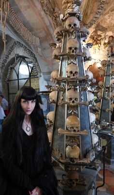 Wednesday Mourning at Sedlec Ossuary
