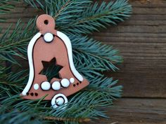 Pottery Designs, Clay, Christmas Ornaments, Holiday Decor, Products, Christmas, Clays, Christmas Jewelry, Christmas Decorations