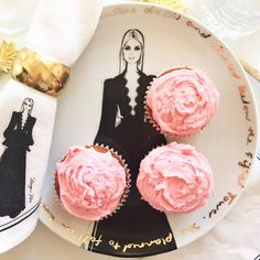 Just another gorgeous picture The French Bedroom Company are loving on Instagram: Sunday afternoon fun - making vanilla cupcakes with musk and cream frosting.....hmmmmm Plate and napkin from my tabletop collection. Available from my online shop: meganhess.com by meganhess_official